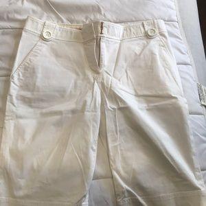 White shorts size 8 Tory Burch